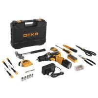 Дрель-шуруповерт аккумуляторная DEKO DKCD12FU-Li 063-4112 SET 104
