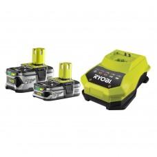 ONE + / Аккумулятор (2) с зарядным устройством RYOBI RBC18LL415