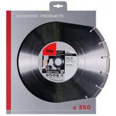 Алмазный диск (по абразивам) FUBAG AW-I 350х2,8х25,4