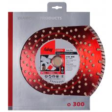 Алмазный диск FUBAG Stein Pro 300х2,8х25,4/30