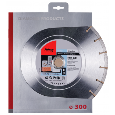 Алмазный диск (по бетону) FUBAG Beton Pro 300x2,4x25,4/30 (1 шт.)