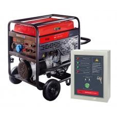 Бензогенератор FUBAG BS 11000 A ES с электростартером и коннектором автоматики с блоком автоматики Startmaster BS 6600