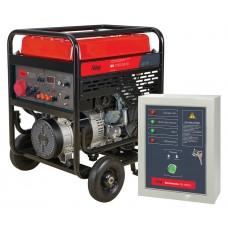 Бензогенератор FUBAG BS 11000 DA ES с электростартером и коннектором автоматики с блоком автоматики Startmaster BS 6600 D