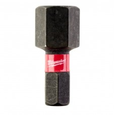 Бита ударная для шуруповерта MILWAUKEE SHOCKWAVE Hex10 25mm (2 шт.)