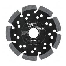 Алмазный диск MILWAUKEE AUDD D125х22,2х2,6 (1 шт.)