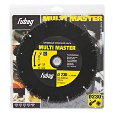 Алмазный диск FUBAG Multi Master 230х22,2х4,5