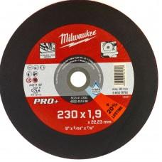 Диск отрезной по металлу MILWAUKEE SC D 230х1,9 мм (1 шт.)