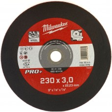 Диск отрезной по металлу 230 мм/3мм MILWAUKEE SC 41/230
