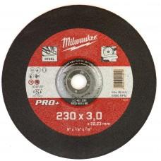 Диск отрезной по металлу 230 мм/3мм MILWAUKEE SC 42/230