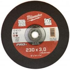 Диск отрезной по камню 230 мм/3мм MILWAUKEE CC 42/230