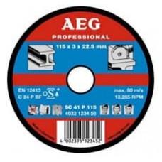 Круг AEG отрезной по камню 230х3х22,2 мм