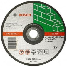 Круг Bosch отрезной для камня 180x3x22,2