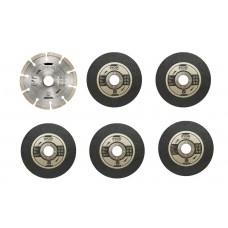 Набор дисков RYOBI RAK6AGD125 (6 шт.)
