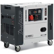 Дизельный генератор DAEWOO DDAE10000DSE-3 в кожухе