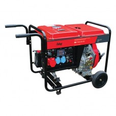 Дизельный генератор FUBAG DS 7000 DA ES с электростартером и коннектором автоматики
