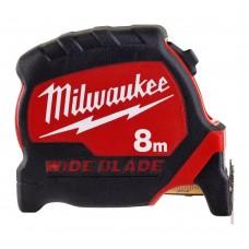 Рулетка с широким полотном MILWAUKEE 8м x 33мм