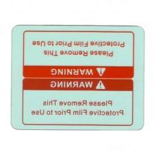 Стекло для маски сварщика FUBAG OPTIMA 4-13 внутреннее