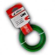Леска EFCO, ф 1,6 мм, 15 м, зеленая (моток)
