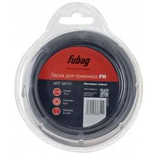 Триммерная леска круглая FUBAG FR 2,4 мм, 15 м