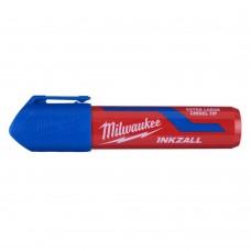 Маркер MILWAUKEE синий XL с долотообразным пером [48223267]