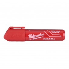 Маркер MILWAUKEE красный XL с долотообразным пером [4932471560]