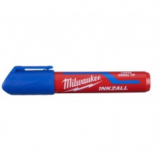Маркер MILWAUKEE синий L с долотообразным пером [4932471557]