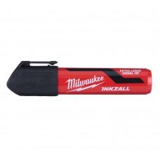 Маркер MILWAUKEE INKZALL XL с долотообразным пером чёрный (1 шт.) [4932471558]
