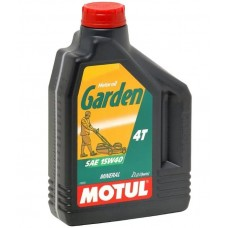 Масло для 4-х тактных двигателей MOTUL GARDEN 4T SAE 15W40 (2 л)