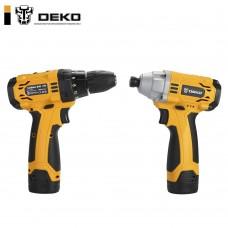 Набор аккумуляторного инструмента DEKO SET