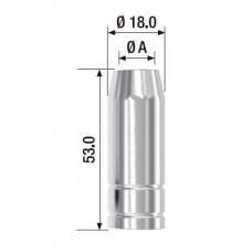 Газовое сопло FUBAG D = 12.0 мм FB 150 5 шт.