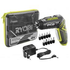 Отвертка аккумуляторная RYOBI R4SDP-L13T