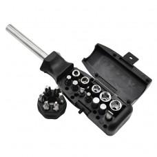 Отвертка со сменными битами и головками Zitrek SRA18 SET 18