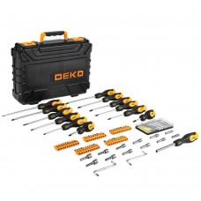 Набор отверток и бит DEKO SS83 в чемодане SET 83