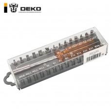 Отвертка с набором бит DEKO BS30 SET 30