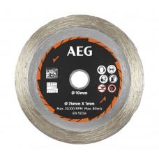 Круг алмазный D 76x10х1 мм AAKMMTC01 AEG