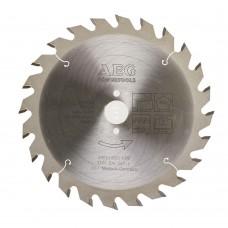 Диск пильный универсальный D 165x20 мм 24Z AEG для циркулярной пилы