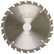 Диск пильный (по дереву) AEG D 190х30х2,2 мм 24Z (1 шт.)