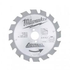 Диск пильный (по дереву) MILWAUKEE D 190х30х2,4 мм 16Z (1 шт.)