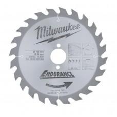 Диск пильный (по дереву) MILWAUKEE D 190х30х2,4 мм 24Z (1 шт.)
