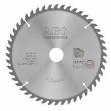 Диск пильный (по дереву) AEG D 216х30х2,4 мм 48Z (1 шт.)