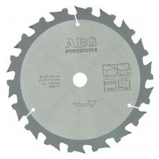 Диск для аккумуляторной циркулярной пилы AEG 165x15,8x18Z