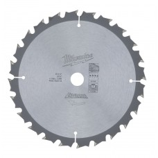 Диск пильный (по дереву) MILWAUKEE D 165х15,87х1,6 мм 24Z (1 шт.)