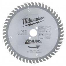Диск пильный (по дереву) MILWAUKEE D 165х20х2,8 мм 52Z (1 шт.)