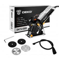 Мини-пила циркулярная DEKO DKCS1000