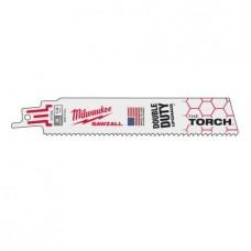 """Полотно 150мм х 14"""" для сабельной пилы по металлу-Torch биметаллические 1 MILWAUKEE"""