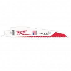 """Полотно 150мм x 5"""" для сабельной пилы демонтаж АХ биметаллическое MILWAUKEE"""