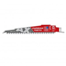 Полотно 150 мм х 5 мм MILWAUKEE TCT AX 150 демонтажное для дерева с гвоздями