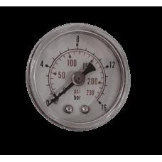 Манометр 16 бар 3-х компонентный RODCRAFT