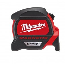 Рулетка магнитная MILWAUKEE Premium 5 м/16 ft x 27 мм