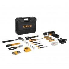 Дрель-шуруповерт аккумуляторная Deko GCD12DU3 SET 104